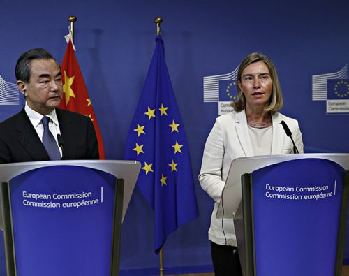 Political Values in Europe-China relations
