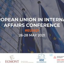 Presentation by Charalambos Chardanidis in the virtual international conference The European Union in International Affairs 2021- Assessing the EU's Capacity to Act( 26-28 May 2021)